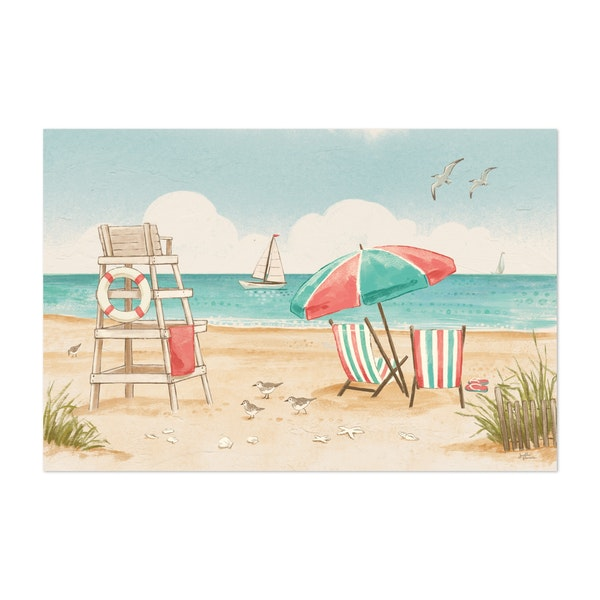 Beach Time I by Janelle Penner