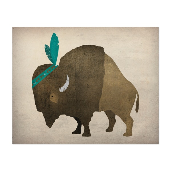 Buffalo Bison III by Ryan Fowler