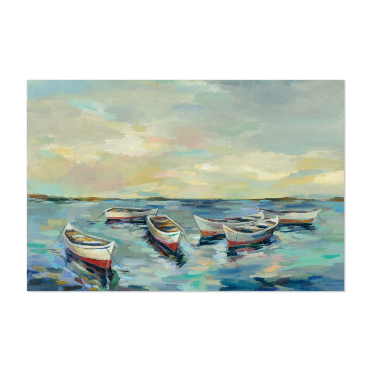 Coastal View of Boats