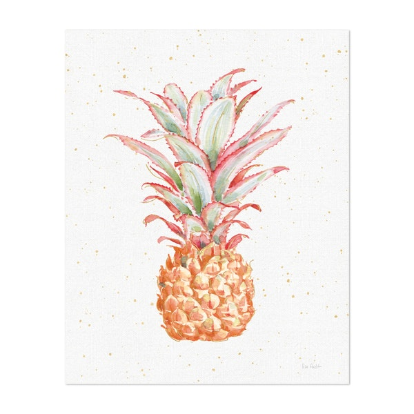 Gracefully Blush Pineapple XII by Lisa Audit