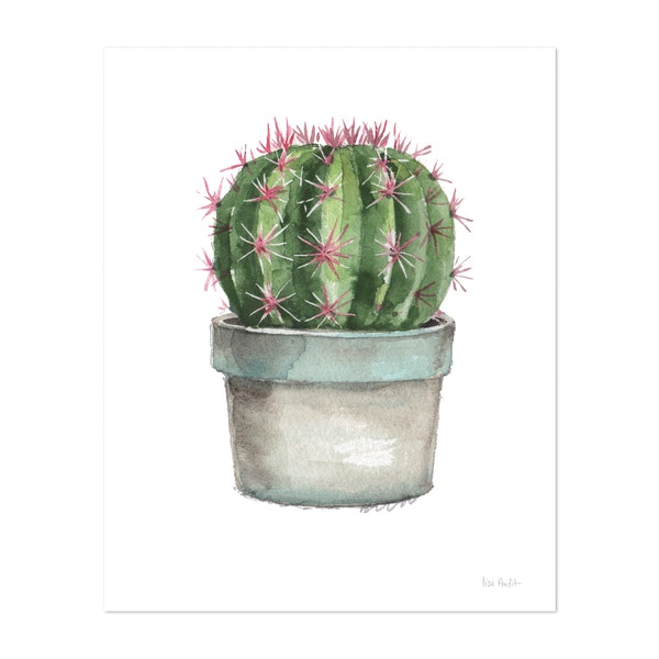 Mixed Greens Succulent II by Lisa Audit