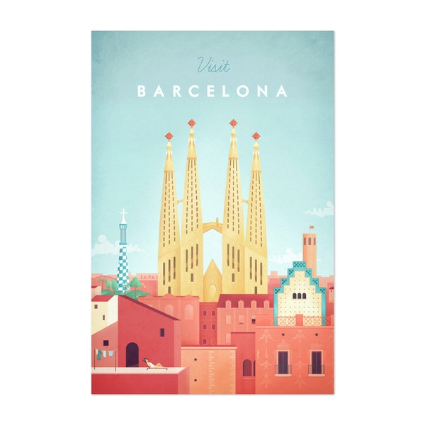 Barcelona by Henry Rivers