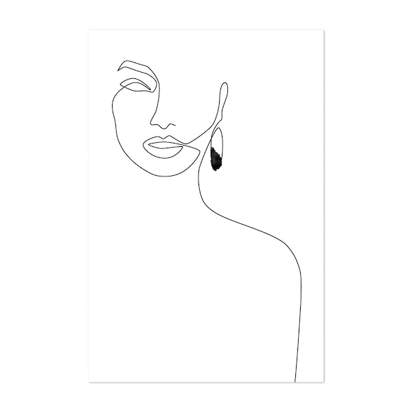 Black Earring by Explicit Design