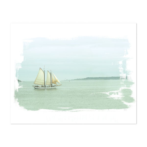 Sailing on the Bay by Sue Schlabach