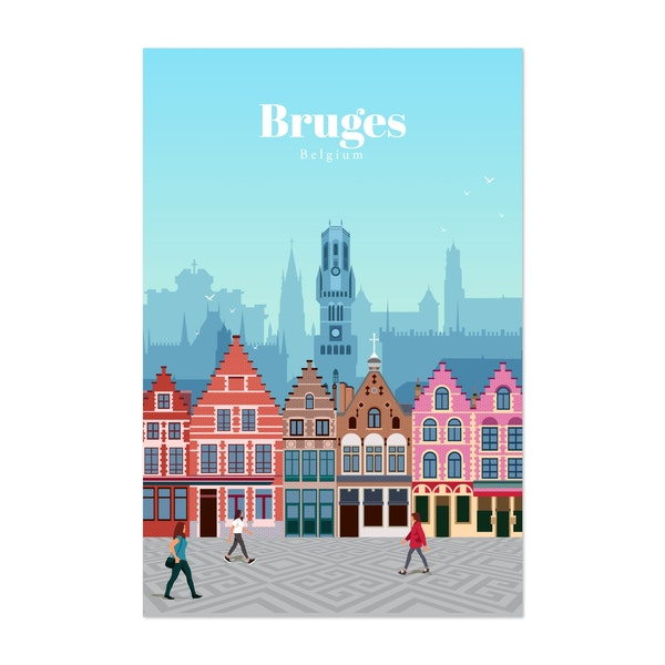 Travel to Bruges by Studio 324