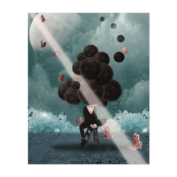 Surreal work with a positive message by Ivan Rodriguez Garcia