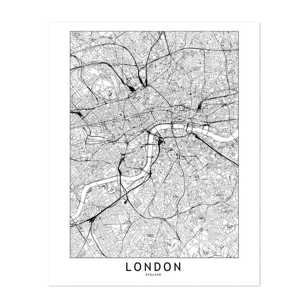 London White Map by MultipliCITY