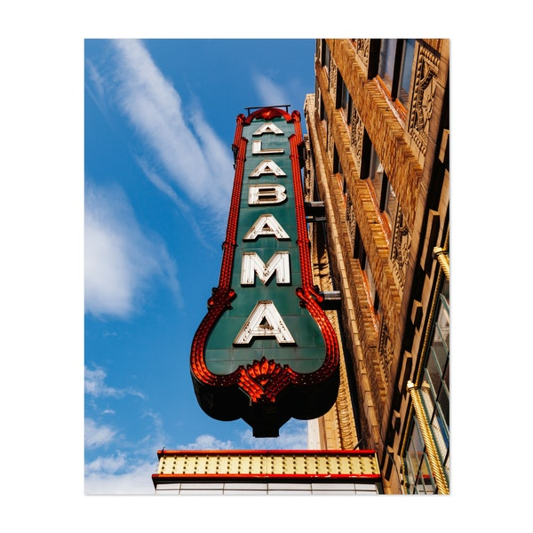 Alabama Marquee by Bethany Young