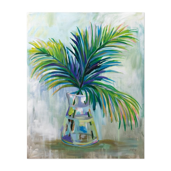 Palm Leaves I by Jeanette Vertentes