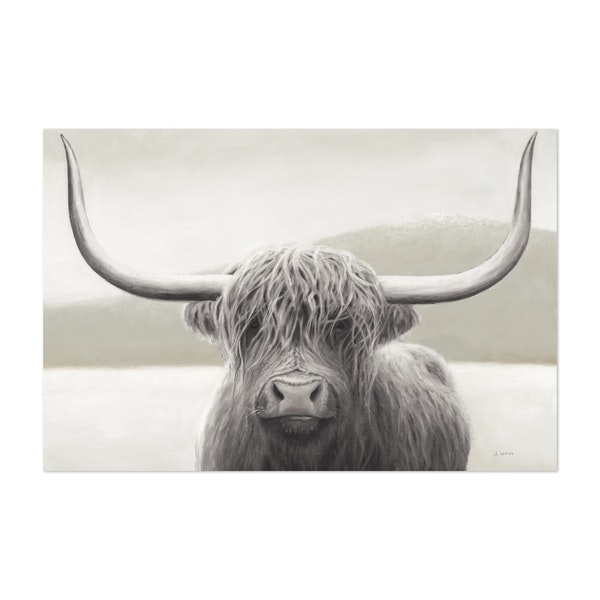 Highland Cow Neutral by James Wiens
