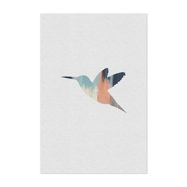 Pastel Hummingbird I by Orara Studio
