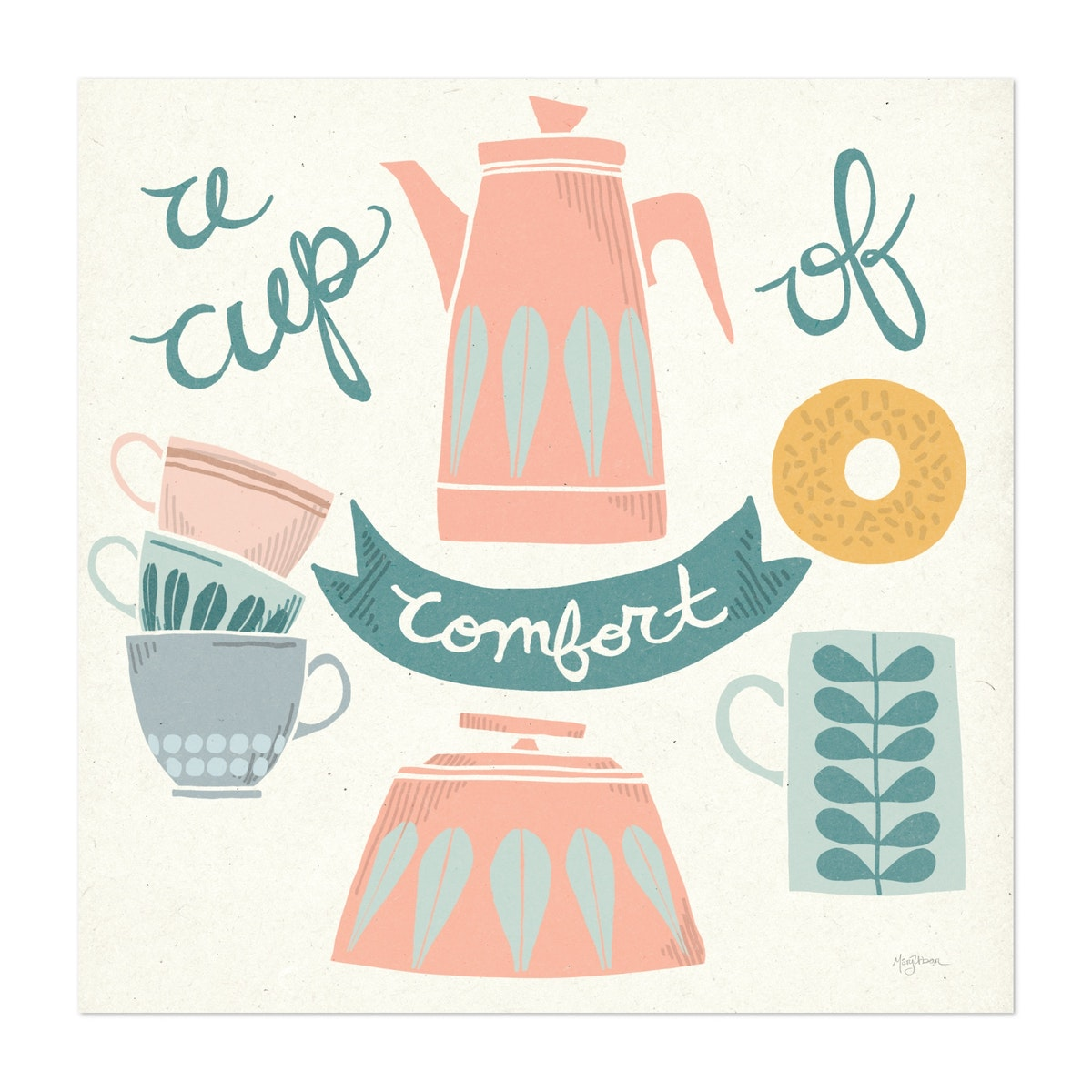A Cup of Comfort Pastel