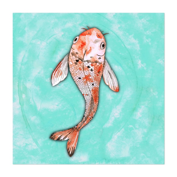 Koi fish by Bwiselizzy