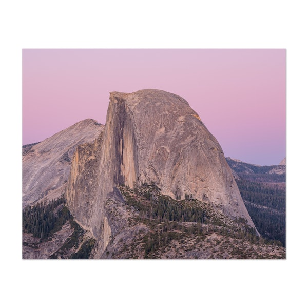 Half Dome Afterglow by Jonathan Sprigler