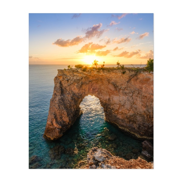 Anguilla Arch by Jonathan Sprigler
