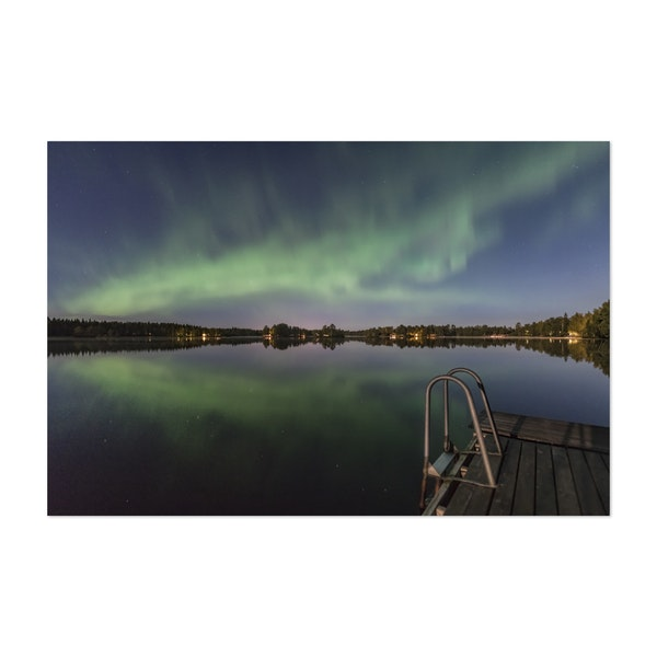 Aurora Lake by Ulf Asplund