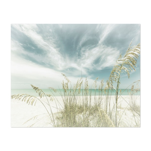 Heavenly calmness on the beach | Vintage by Melanie Viola