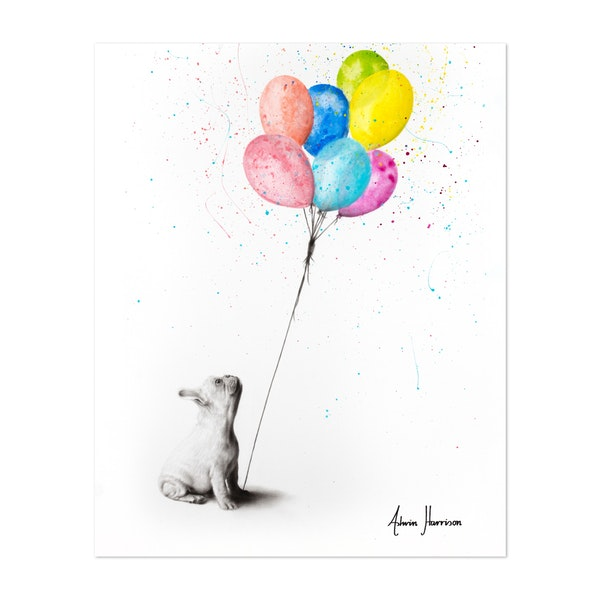 The French Bulldog And The Balloons by Ashvin Harrison
