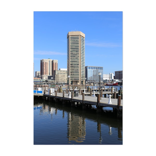 Baltimore Harbor by Art and Photos by Christine aka stine1