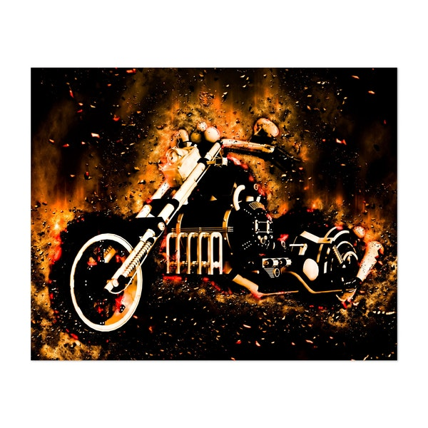 Awesome motorcycle by nicky