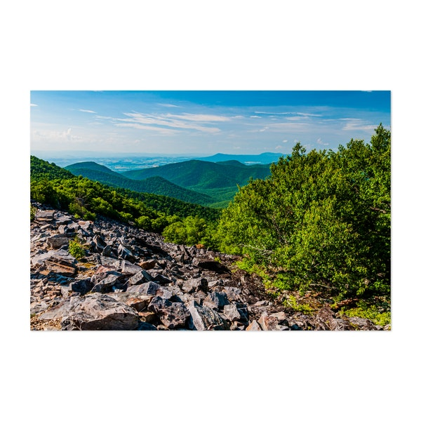 Hiking in Shenandoah National Park by Walt Bilous