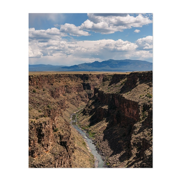 Rio Grande Gorge V by Bethany Young