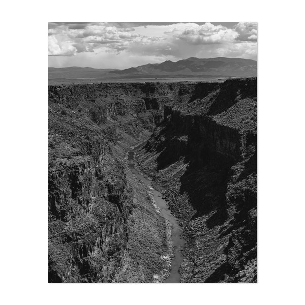 Rio Grande Gorge IV by Bethany Young