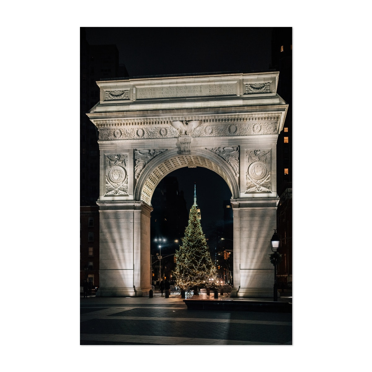 Christmas at Washington Square
