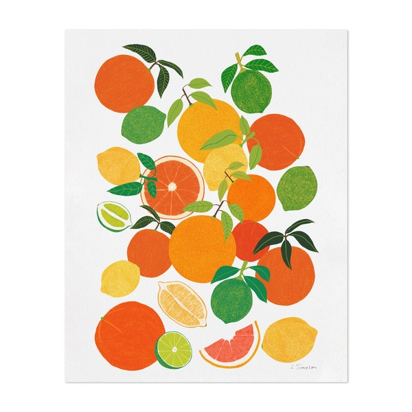 Citrus Harvest by Leanne Simpson