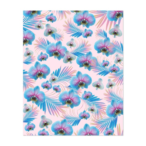 Orchid Palm Leaves Dream 1 by Anita's & Bella's Art