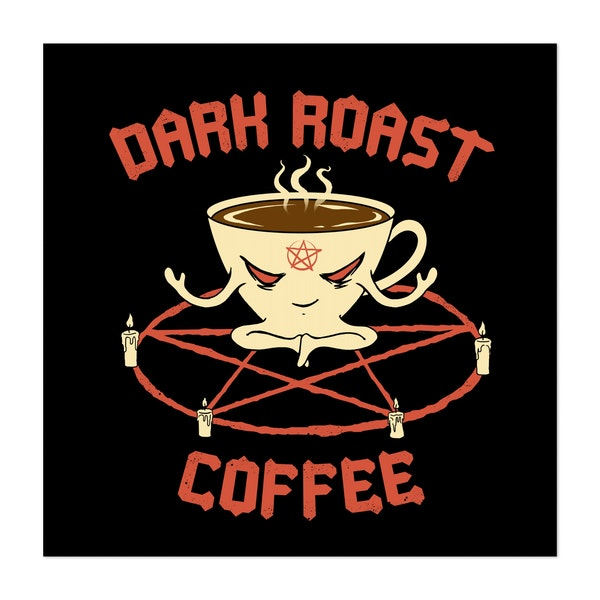 Dark Roast Coffee by Vincent Trinidad