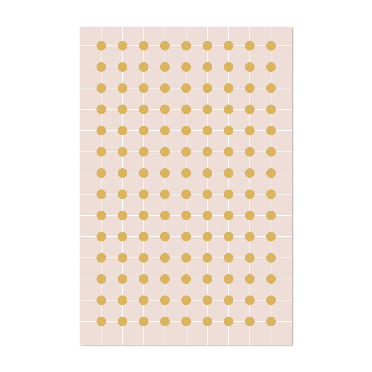 Dotted Grid in Gold