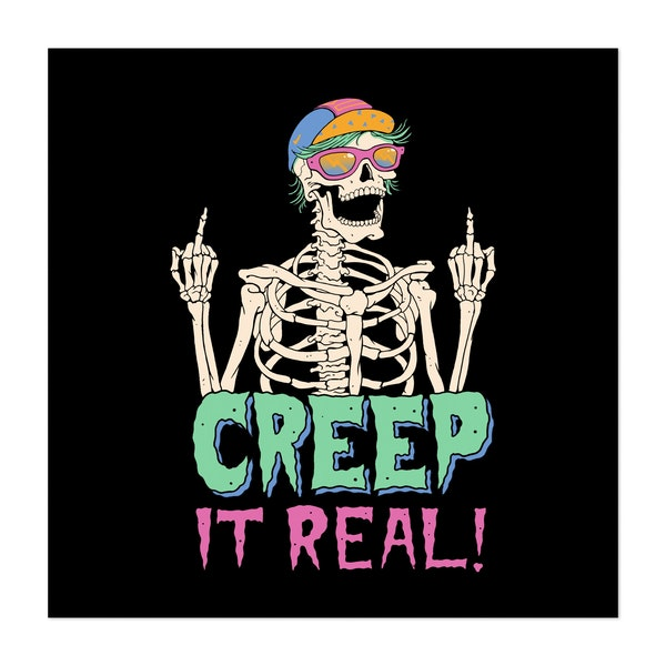 Creep it Real! by Vincent Trinidad