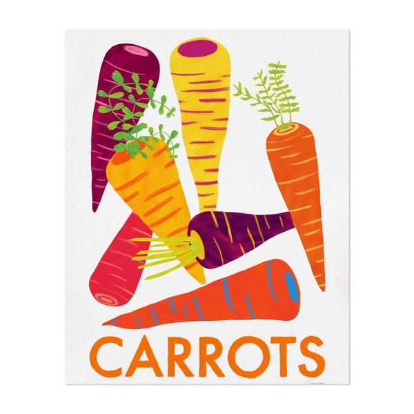 Eat Your Veggies - Carrots by Leanne Simpson