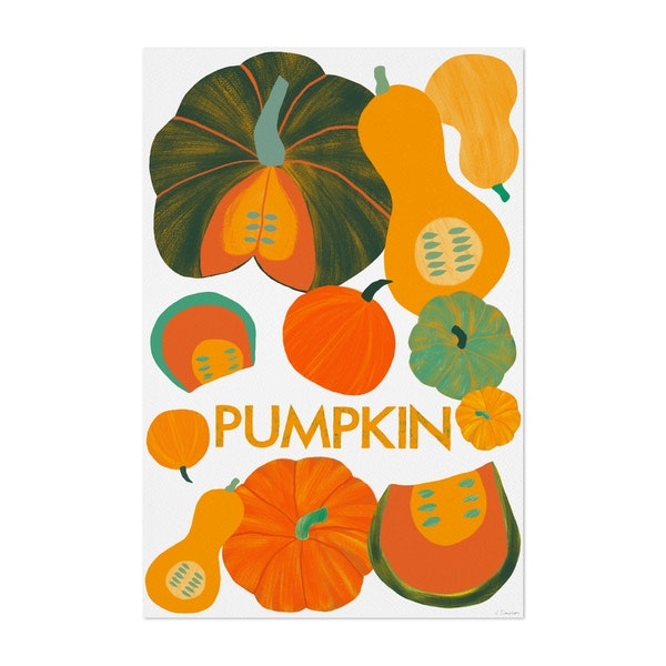Eat Your Veggies - Pumpkin by Leanne Simpson