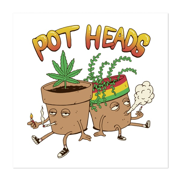 Pot Heads by Vincent Trinidad