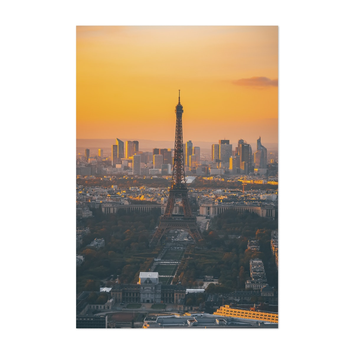 Eiffel Tower at Sunset 02