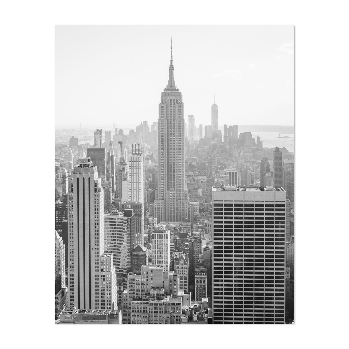 Empire State Building 02 B&W