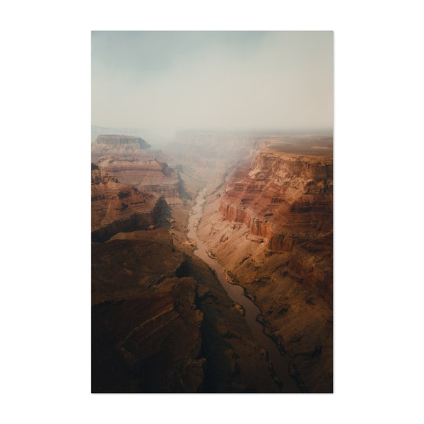 Fire Haze in the Canyon by Sam Brockway