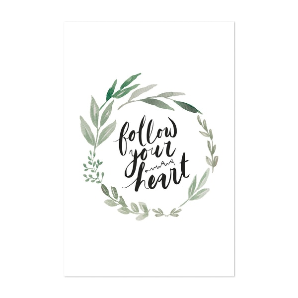 Follow your Heart by Anis Illustration