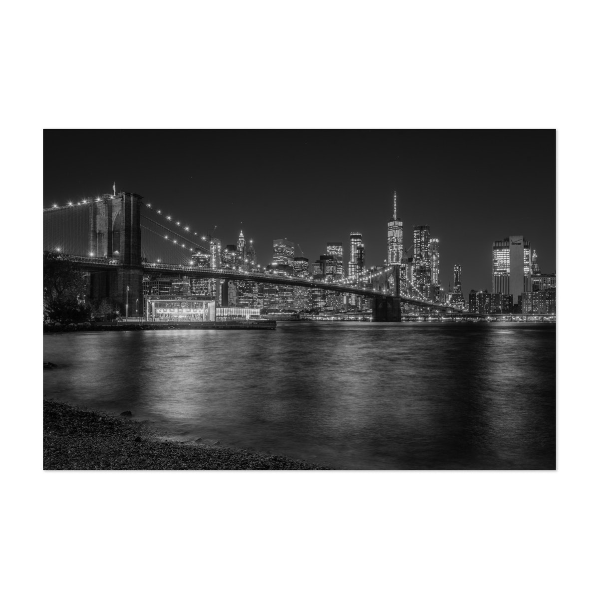 From DUMBO 01 B&W