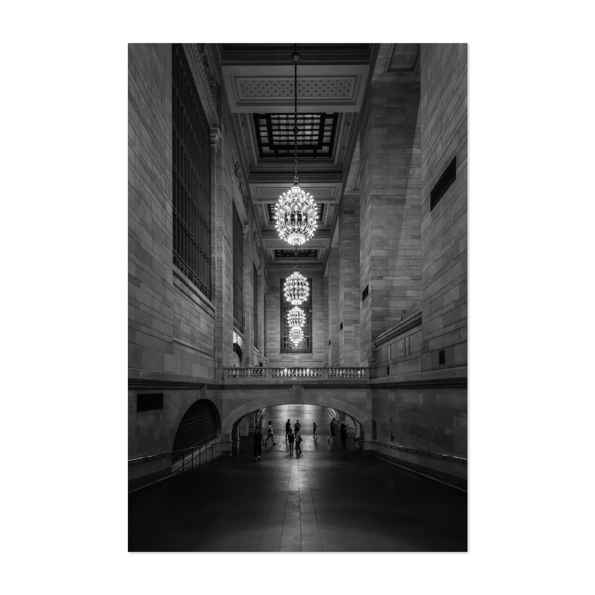 Grand Central Station B&W
