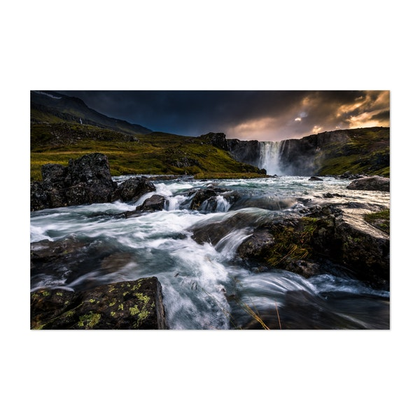 Gufufoss by Marcel Gross