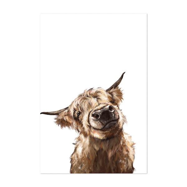 Highland Cow 01 by Big Nose Work