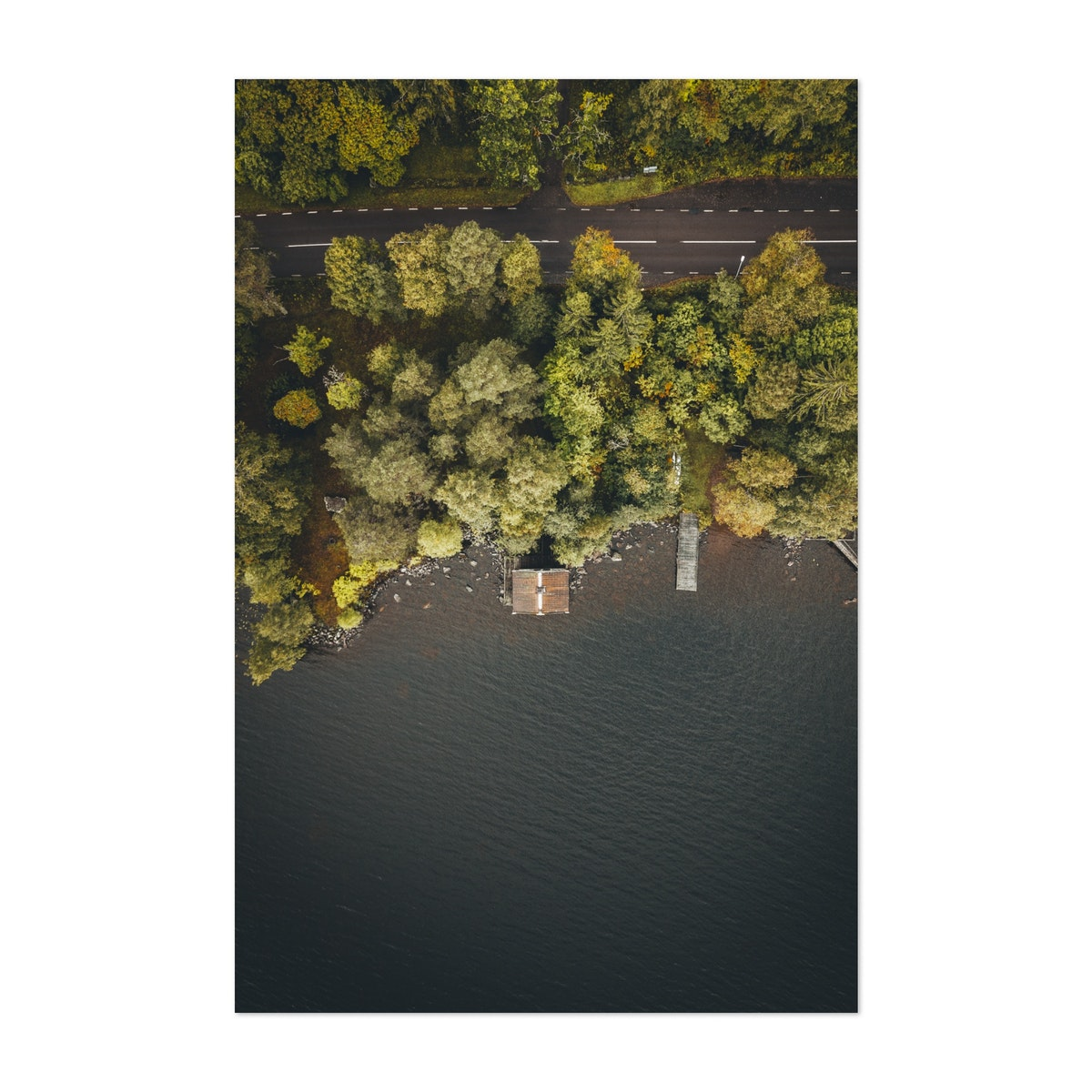 House At Lake