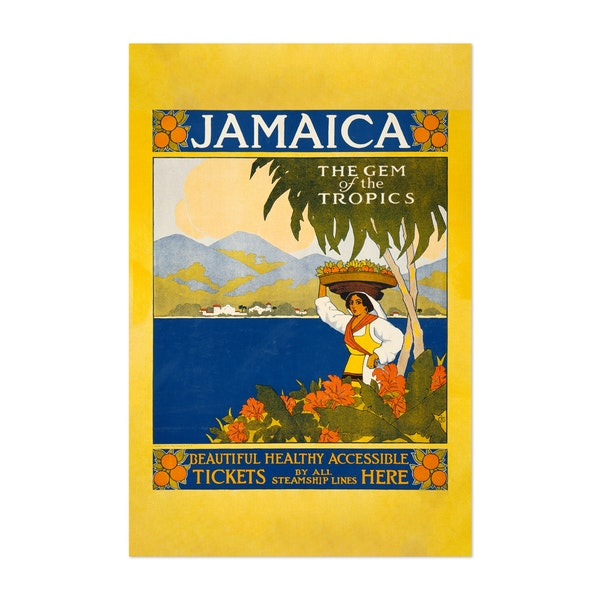 Jamaica, The Gem of the Tropics by Noir Gallery Vintage