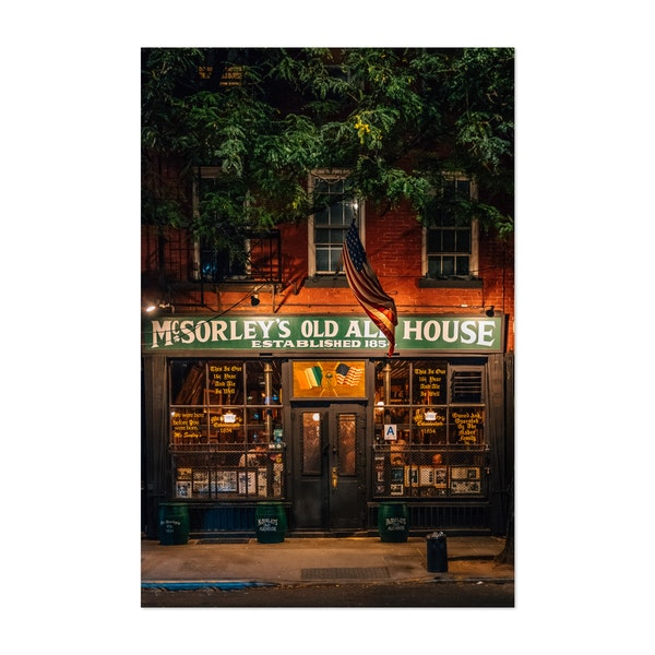 McSorley's Old Ale House by Jon Bilous