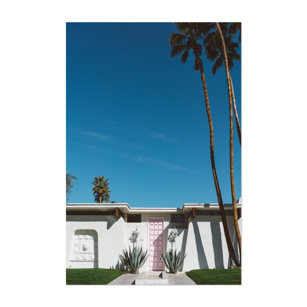Palm Springs Pink Door by Bethany Young