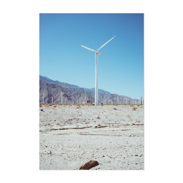Palm Springs Windmills III by Bethany Young