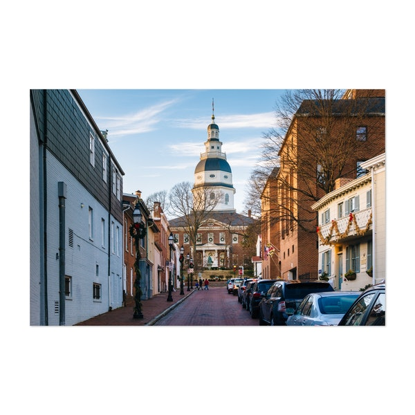 The Maryland State House by Jon Bilous